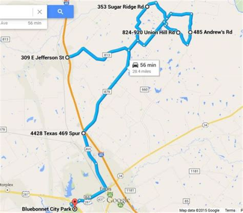 map of ennis texas discover texas wildflower season on the texas bluebonnet trail the road more traveled