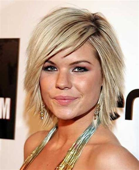 short layered choppy bobs with side bangs short bob with side swept bangs the best short