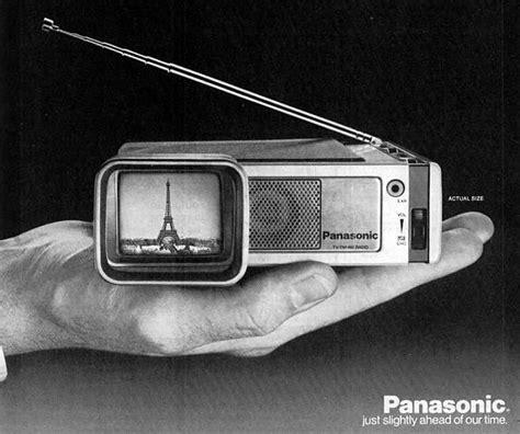 Tv Portable Panasonic panasonic travelvision portable tv radio 1968 antes radios radio antigua y