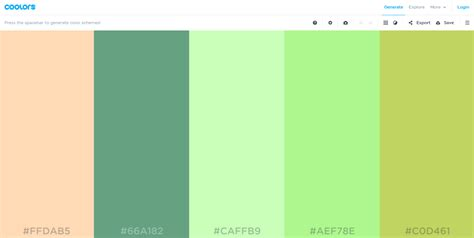 web colors 2017 19 color palette generators that make web design easier