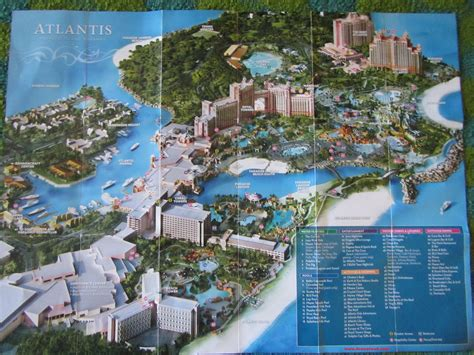 atlantis bahamas map map of atlantis resort nassau pictures to pin on pinsdaddy