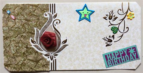 Handmade Bday Card Ship Card M