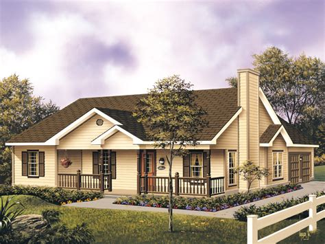 Large Front Porch House Plans Mayland Country Style Home Plan 001d 0031 House Plans