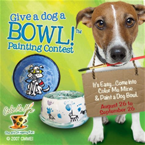 color me mine wayne give a a bowl voting braxtons animal works
