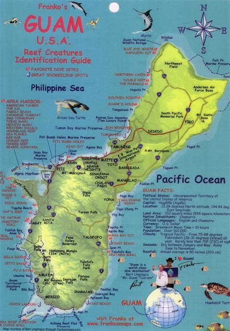 map of guam november 2011 yogini sadhaka