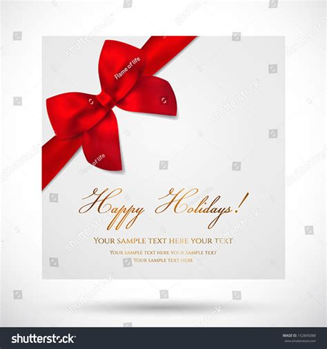 Christmas Gift Greeting Cards - holiday card christmas card birthday card gift card greeting card template with