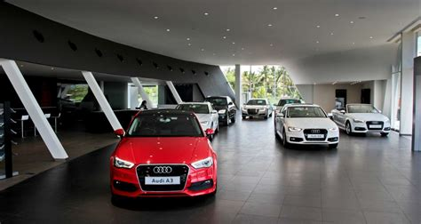 audi dealership interior audi india opens madurai showroom third outlet in tamil