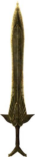 Elven sword elder scrolls wikia