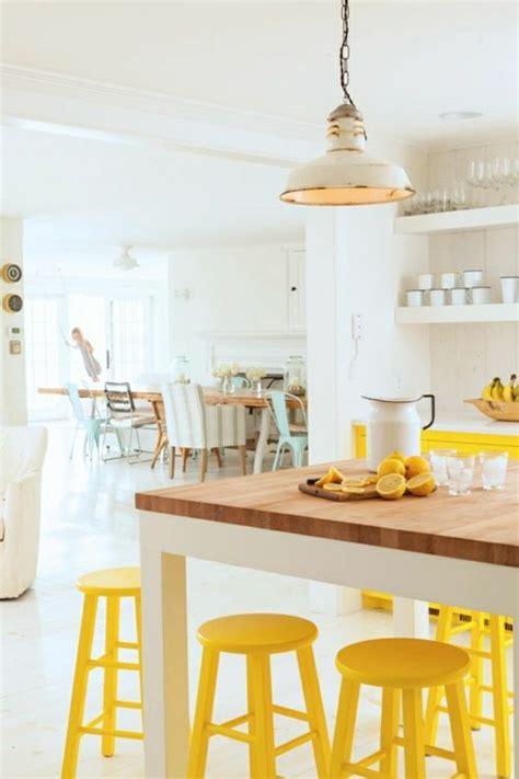 cuisine blanche et jaune choisir quelle couleur pour une cuisine
