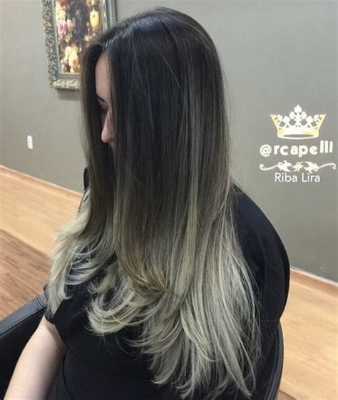 hairstyles and colors for long length hair sleek and sexy hair beauty with ombre straight hair