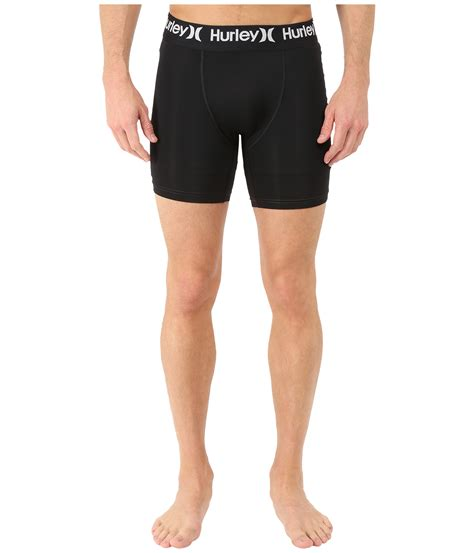 Lace Undershorts hurley dri fit surf undershorts in black for lyst