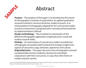 abstract part of a research paper what is the abstract part of a research paper