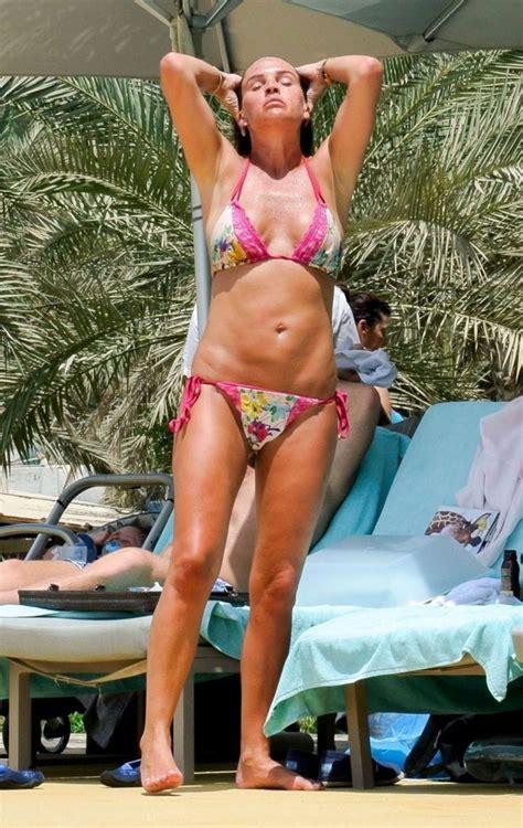 danielle lloyd hot  bikini  dubai