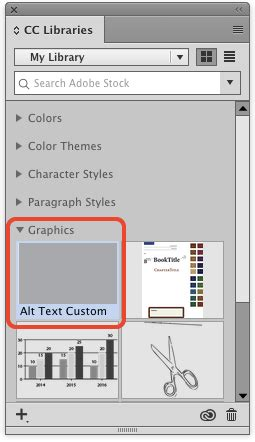 indesign font library tip of the week adding alt text to images with object
