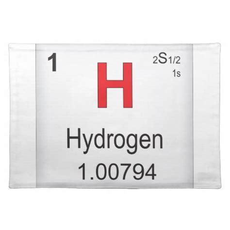 Hydrogen On The Periodic Table by Hydrogen Images
