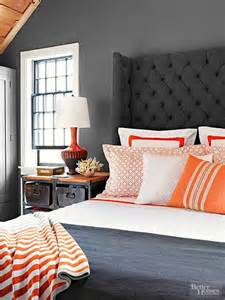 gray and orange bedroom grey paint colors archives confettistyle