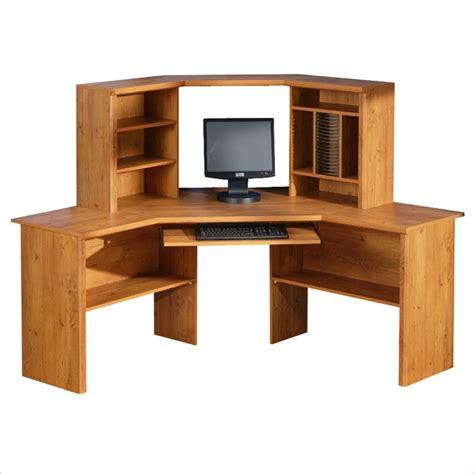 Corner Pc Desk South Shore Prairie Home Office Corner Computer Desk