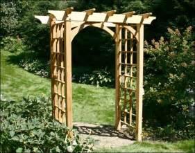 Build An Arbor Trellis canterbury arbor 54 quot opening contemporary pergolas