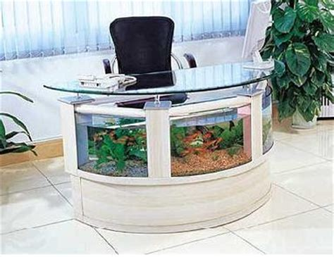 Fish Tank Reception Desk Aquarium Lore Innovative Fish Tanks
