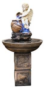 Water Fountains With Lights Alpine Heavenly Indoor With Led Lights