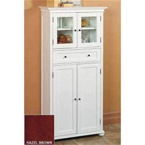 Shallow Bathroom Cabinet Home Decorators Collection Hton Bay Cabinet 4 Door In Hazel Shallow Bathroom Cabinet Tsc