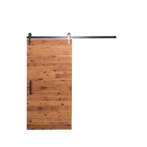 Reclaimed Barn Door Hardware Rustica Hardware 36 In X 84 In Reclaimed Clear Wood Barn