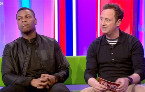 The Science Of The Sitting Guard Matt Baker 2 Dvd Set the one show slammed as wars boyega struggles through awkward sausage chat buzz