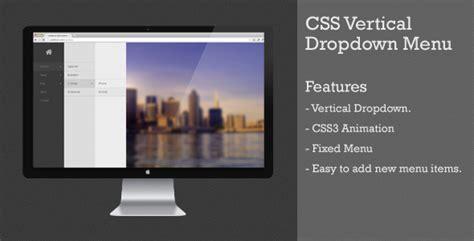 html vertical menu templates css vertical dropdown menu free 187 takcork