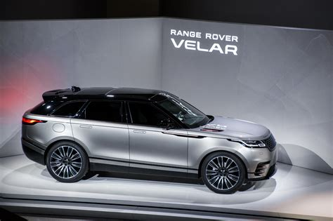land rover jaguar range rover velar launched at the design museum jaguar