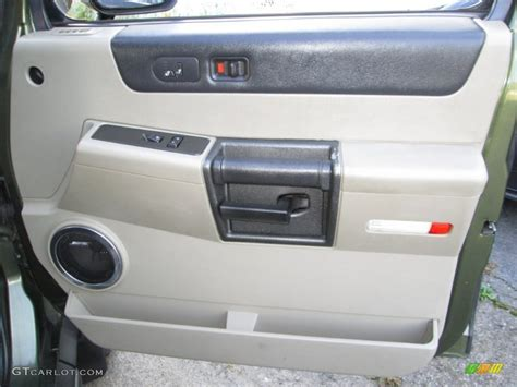 Hummer H2 Interior Door Panel 2003 Hummer H2 Suv Wheat Door Panel Photo 87024836 Gtcarlot