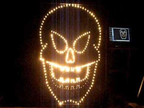 best lights show 2011 the end is awesome how to build light o rama singing faces with pegboard doovi