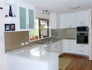 Design Ideas For Small Galley Kitchens - u shaped kitchen designs u shape gallery kitchens brisbane