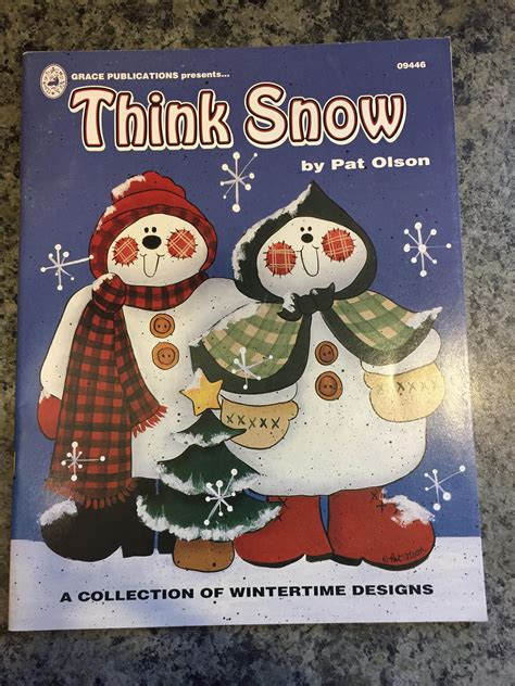 libro thinking through painting pattern book for acrylic painting think snow by pat olson patterns