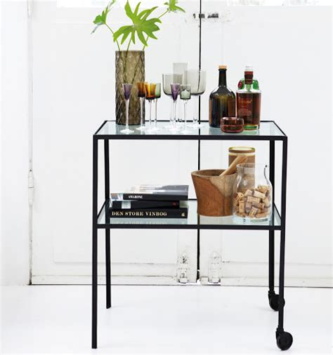 Danish Modern Dining Room objects of design 149 drinks trolley mad about the house