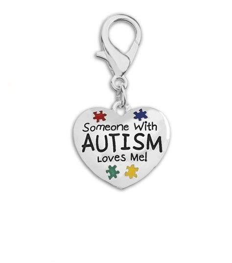 someone with autism me hanging charm autism