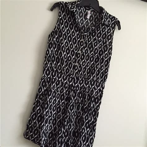 black and white pattern romper 54 off xhilaration pants black white pattern romper
