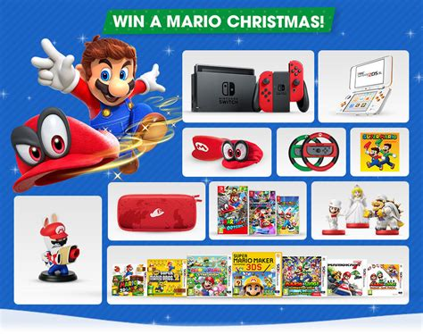 Post Sweepstakes Nintendoswitch Com - join the mario christmas sweepstakes on nintendo uk store nintendosoup