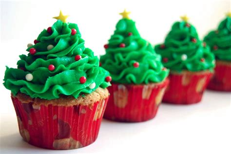 christmas tree cupcakes newsnish