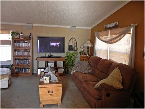 Mobile Home Living Room Remodel Wide Mobile Homes Interior