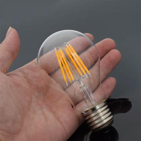 retro filament light retro e27 e14 8w 12w edison filament bulb led light candle