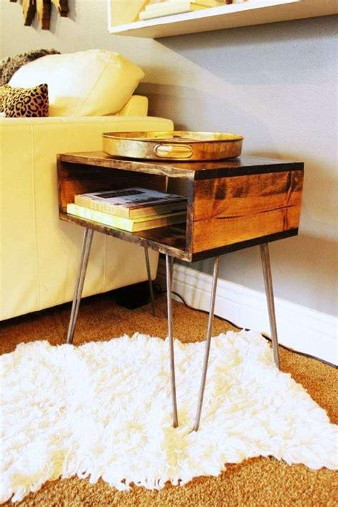 idee table de nuit id 233 e bricolage maison 45 suggestions de d 233 co cr 233 ative