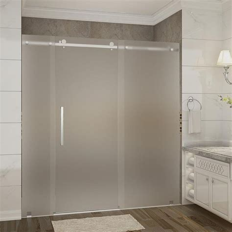 How To Clean Frosted Glass Shower Doors 25 Best Ideas About Frameless Sliding Shower Doors On Shower Door Dreamline Shower