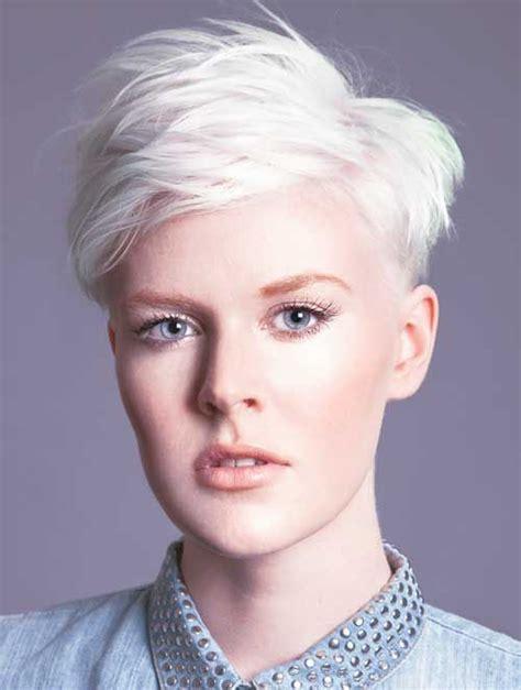 gianna jun hair cut 2014 beautuful icy blonde spiky pixie pixie haircut