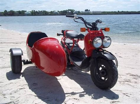 50ccm Motorrad Mit Beiwagen by Honda Ruckus With Sidecar Scooters Pinterest Honda