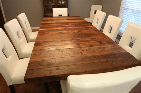 Barn Wood Dining Room Table by Barnwood Table