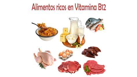 alimentos que contienen vitaminas b12 alimentos con vitamina b6 y b12 solo otras ideas de
