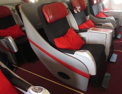 Kursi Di Airasia review terbang dengan kelas bisnis flat bed air asia