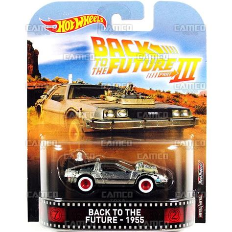 Hotwheels 1 64 Retro Back To The Future Time Machine Hover Mode 1 back to the future 1955 time machine 2017 wheels