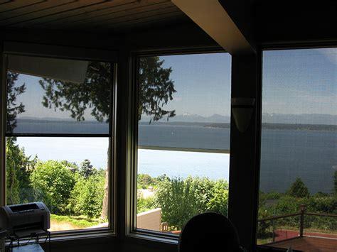 Interior Solar Screens by Outdoor Interior Solar Shades Shadingsunrise