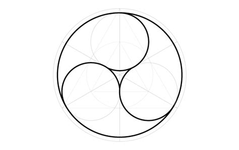geometric designs using circles circle design pattern using compass www imgkid com the